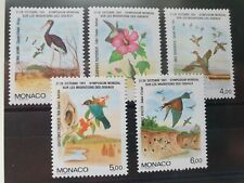 Monaco 1991 Int Symposium on Bird Migration set of 5, MNH