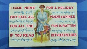 WW1 Novelty Stocker Shaw Comic Postcard 1917 Silk Stockings THE BOYS IN KHAKI