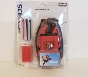 Nintendo DS switch and carry Mario starter kit NEW SEALED