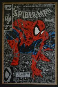 SPIDER-MAN  # 1 : NEAR MINT- : AUGUST 1990 : MARVEL COMICS.