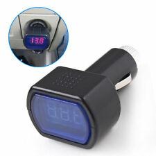 Newest! Digital LED Voltage Meter Car Battery Electric Tester Plug In Cigarette