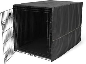 """MidWest Dog Crate Cover, Black, 48L x 30W x 33H"""", OPEN BOX"""