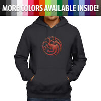 Game of Thrones House Targaryen Fire Blood Pullover Hoodie Jacket Hooded Sweater