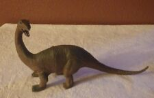 "Large Brontosaurus Dinosaur Prehistoric Animal Plastic Toy 6.5"" Tall"