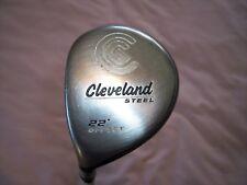 Used LH Cleveland Steel Offset 22 Degree Fairway Metal 5 Wood in Golf