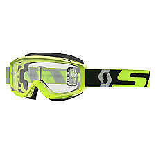 SCOTT SPLIT OTG GOGGLES YELLOW/GREY CLEAR LENS 262599-4331113