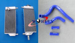 Aluminum Radiator+BL hose FOR HONDA CR250 CR 250 CR250R CR 250R 92-96 94 95 1996