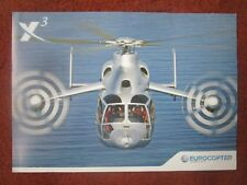 DOCUMENT RECTO/VERSO EADS EUROCOPTER X3 HELICOPTER HUBSCHRAUBER