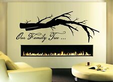 Our Family Tree Vinyl Wall Decal Sticker Home Decor Family