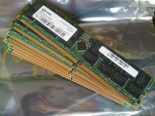 8gb 4 x 2gb Micron Technology ddr1 pc3200r 400mhz cl3 ECC REG server-RAM