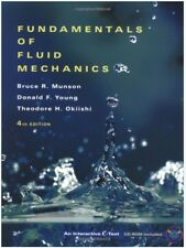 Fundamentals of Fluid Mechanics, 4th Edition, Hardcover - USED