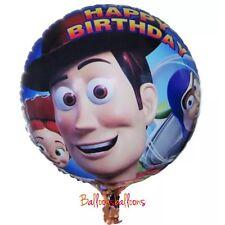 "Toy Story Foil 18"" Balloons Buzz Woody Jessie Rex Party Happy Birthday"