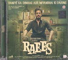 RAEES - Original Bollywood Soundtrack CD - Shahrukh Khan & Mahira