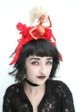 Murder Doll Flower Crown Headdress Goth Gothic Halloween BDSM Blood Freak