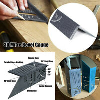 3D Gehrungswinkel Winkelmesser Streichmaß Streichmass Mitre Bevel Umschlagwinkel
