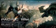 PACIFIC RIM 2013 Jaeger Kaiju GIANT 5ftx10ft Movie Theater Display Banner Poster
