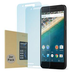 2x 9H Hartglas LG Nexus 5X Display Schutz Anti Kratzer Panzer Verbundglas Folie
