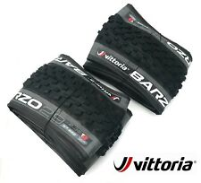 2 X Vittoria Barzo Bicycle Bike Tyre MTB 29''x 2.35 TNT Tubeless folding tyres