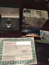 Collectible Rolex Oysterdate Precision 9.0MSeries 34mm Stainless Steel Box Paper