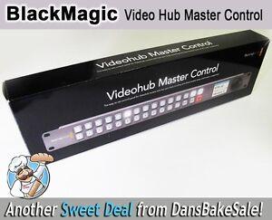 Blackmagic Design Video Hub Master Control Router VHUB/WMSTRCRL - Open Box