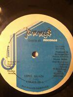 "Cocoa Tea-Come Again 12"" Vinyl Single 1986 JAMMY$ DANCEHALL"