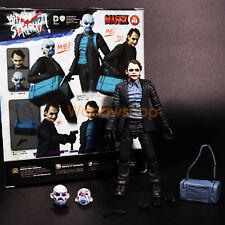 "DC Joker Batman The Dark Knight 1/12 6"" Action Figure Medicom Mafex 15 New"