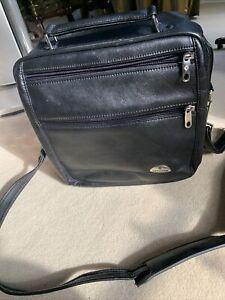 Samsonite Black Leather? Shoulder Bag/ Holdall