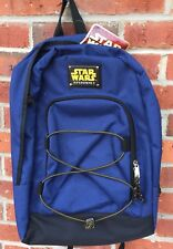 Blue Backpack Star Wars Episode 1 Fan Club Collectible Unused w Tag