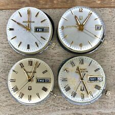 Bulova Accutron Wrist Watch Movements - Series 218, 2181, 2182 - Tuning Fork