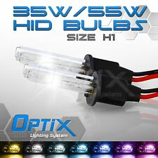 Optix 35W HID Light Xenon Bulbs Low Beam Head Lights - H1 / 10k 10000k Deep Blue