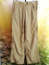 EX OFFICIO Beige Buzz Off Insect Shield Hiking Safari Outdoor Pants 6 S $100
