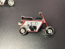 Minibike Enamel Pins With Spinning Wheels