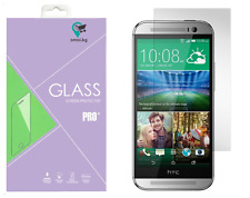 HTC One M8 TEMPERED Glass LCD Screen Protector Guard Film High Premium Quality