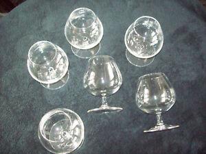 6 Cognacschwenker,Cognacgläser