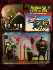 "1994 BATMAN THE ANIMATED SERIES ""NINJA POWER PACK BATMAN & ROBIN"" $18.95 each"