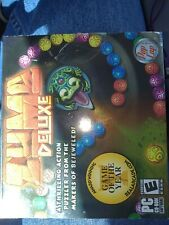 Zuma Deluxe (PC CD-ROM, 2006) -- PopCap Games