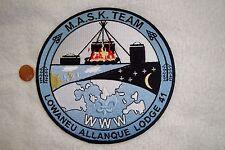 OA LOWANEU ALLANQUE LODGE 41 THREE FIRES COUNCIL FLAP M.A.S.K. TEAM JACKET PATCH