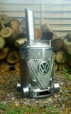 Vw Gas Bottle Woodburner/Stove/Chimnea /Patio Heater/Log burner/ Chiminea