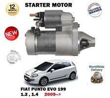 Per FIAT PUNTO + EVO 1.2 1.4 8v 2009 -- > NUOVA unità motore di avviamento