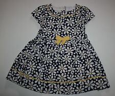 New Gymboree Pretty Daisy Print Spring Dress Size 2T NWT Flower Shower Line Girl