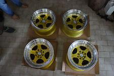 """JDM Rotifom Style 15"""" pcd114.3 pcd100x4 wheels ae86 civic Z31 miata mx5 eg6 dc2"""