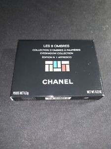 Chanel Les 9 Ombres Eyeshadow collection #1 Affresco