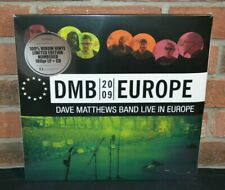Dave Matthews Band - Europe 2009 Live, Ltd Import 5Lp Black Vinyl + 3 Cd #'d Set