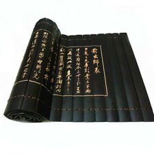 Natural Bamboo Placemat Chinese Gongfu Tea Place Mats Table Runner Drink Fushion