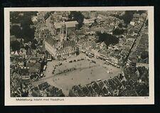 Holland Netherlands MIDDELBURG KLM Foto #27-71  Aerial view RP PPC c1930s?