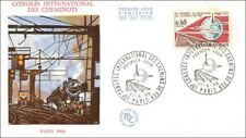 Congress International Of Paths Railway - Workers - Paris - 1966 - FDC