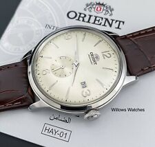 Orient Bambino Small Seconds Champagne Dial Automatic Men's Watch RA-AP0003S10A