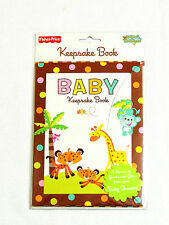 NEW~ANIMALS OF THE RAINFOREST~ 1-BABY SHOWER  KEPPSAKE BOOK -   PARTY SUPPLIES