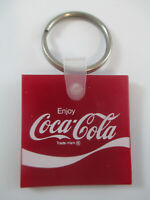 Coca-Cola Vintage Red Enjoy Coca-Cola Soft Plastic Keychain