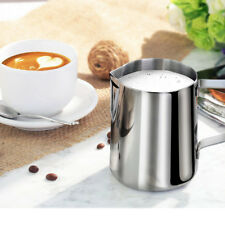 600ml Stainless Steel Milk Frothing Jug Frother Coffee Container Metal Pitcher